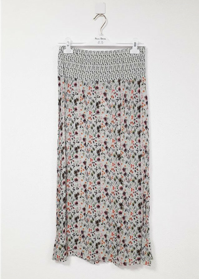 Paul Brial: Cotton Candy Crinkle Maxi Skirt (More Colors!)