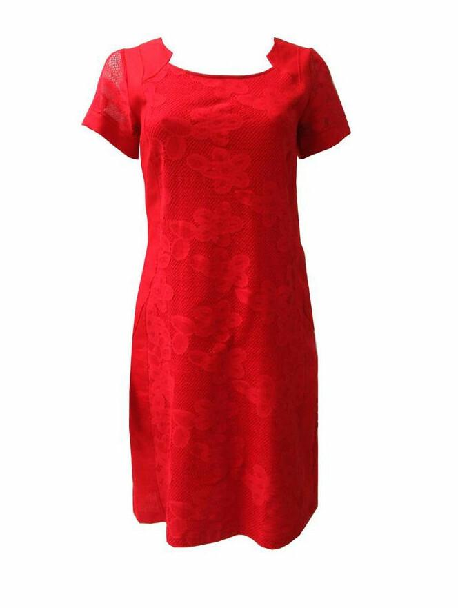 Maloka: Lace Floral Linen Dress (More Colors!)