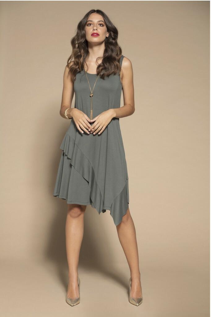 Maloka: Mrs. Crazy Comfy Frilled Midi Dress (More Colors!) MK_LIBBY