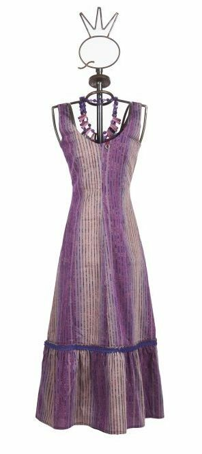 Save The Queen: Inverted Purple Orchid Flared Dress (1 Left!)