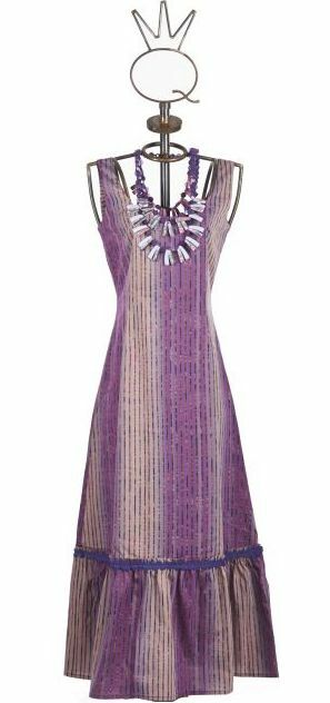 Save The Queen: Inverted Purple Orchid Flared Dress (1 Left!) STQ_441