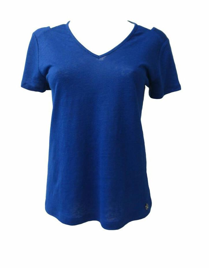 Maloka: Criss Cross Crush Linen T-Shirt (More Colors!)