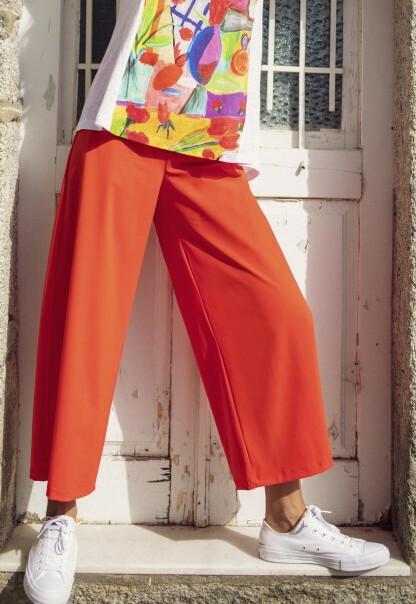 Maloka: Flirty Fun Wide Leg Cropped Pants (More Colors!)