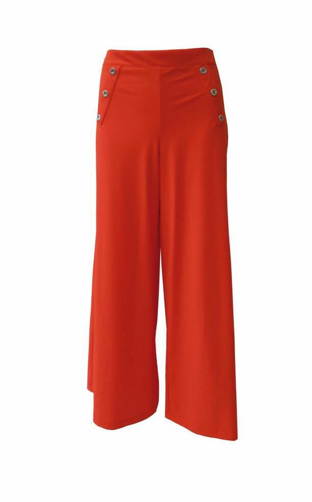Maloka: Flirty Fun Wide Leg Cropped Pants (More Colors!) MK_KARY