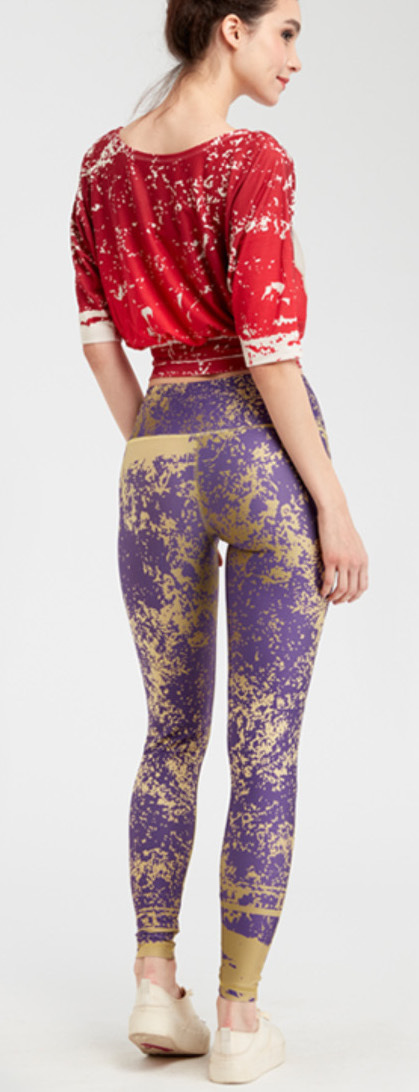 IPNG: Sunny Speach Illusion Legging (Some Ship Immed!)