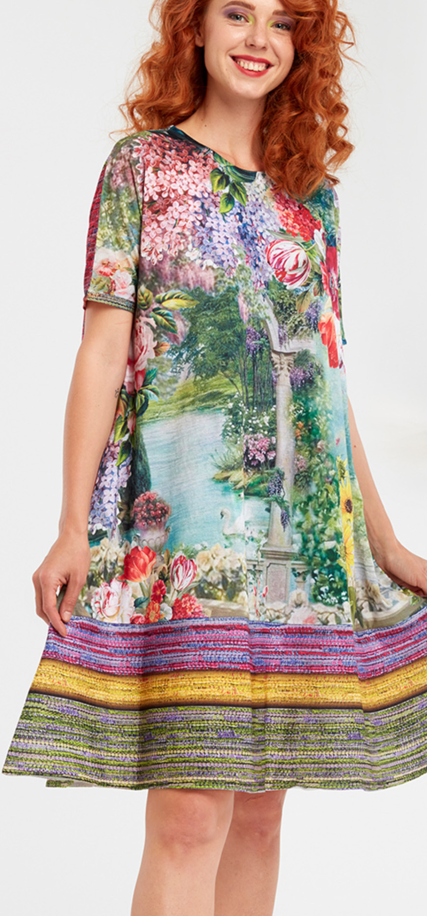 IPNG: In Paradiso Cherry Carnation Fairytale Comfort Dress IPNG_IPYDW-092
