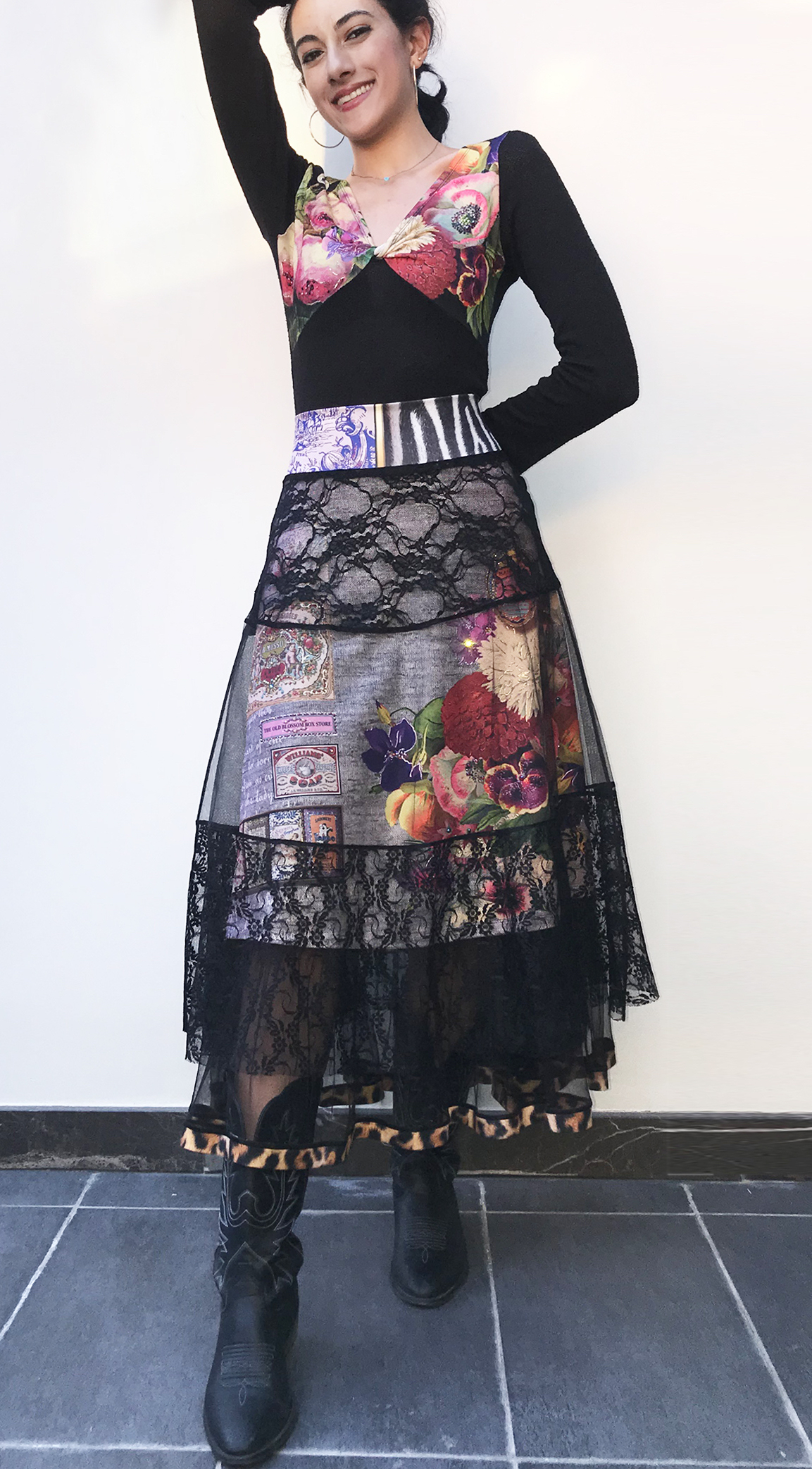 IPNG: Label Longings Tigress Illusion Skirt