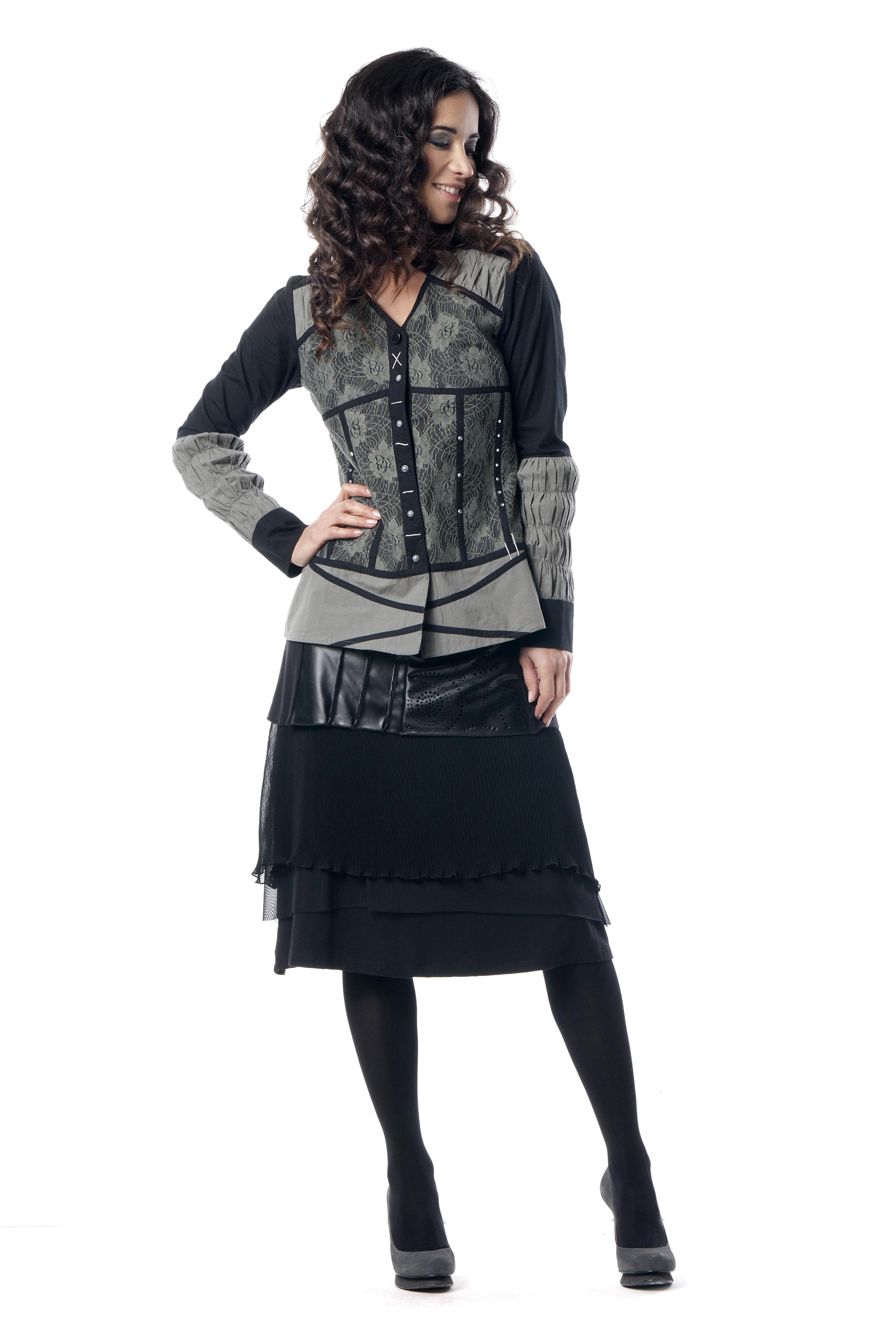 Les Fees Du Vent Couture: Femme Fatale Skirt LFDV_887613