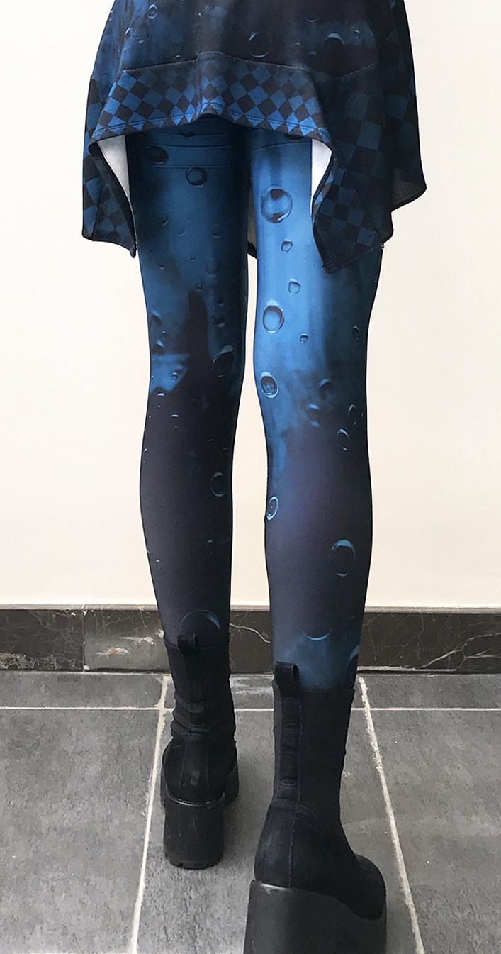 IPNG: Turquarium Jeweled Underwater Illusion Legging