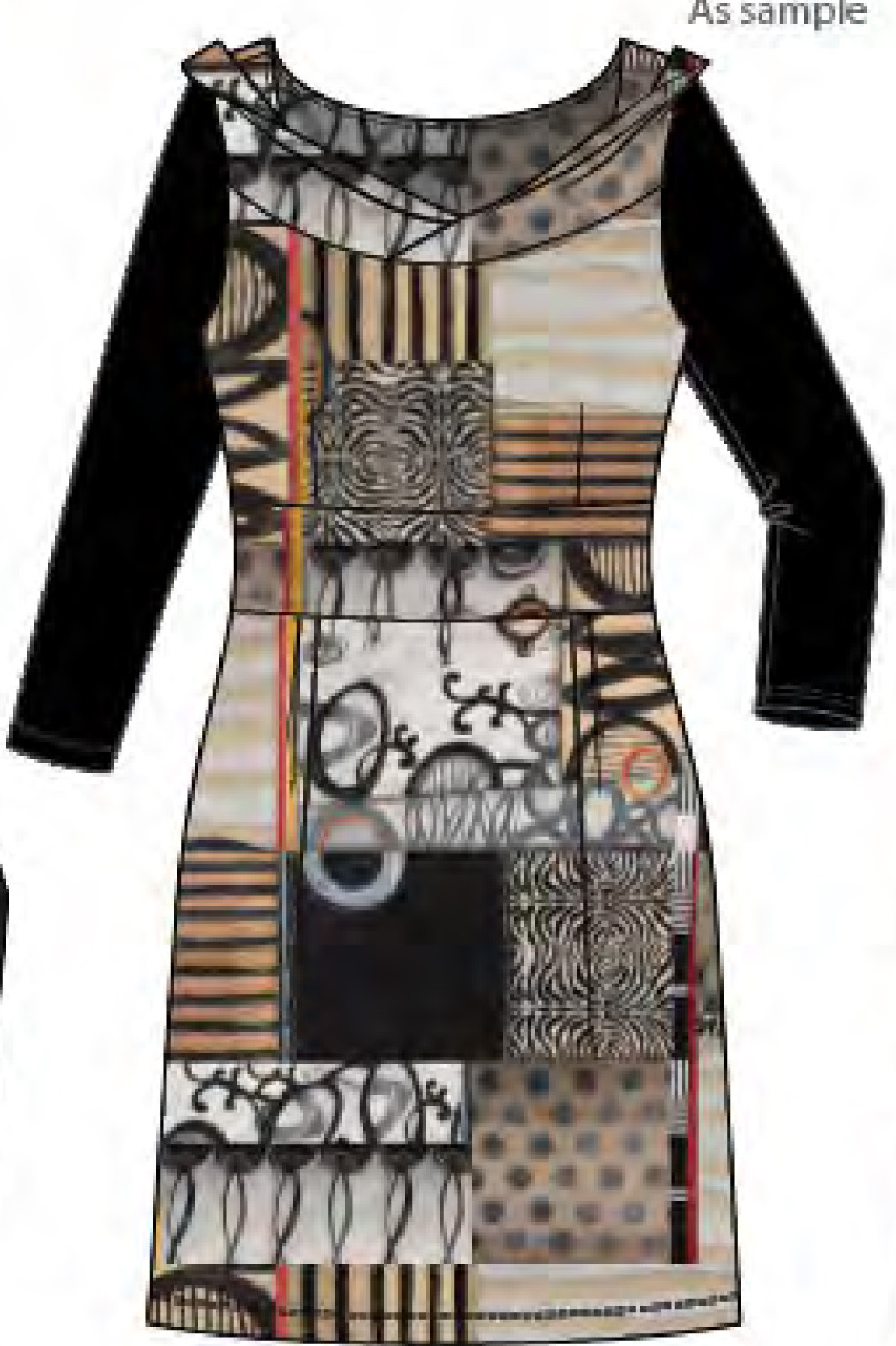 Simply Art Dolcezza: Black Butterfly Poetic Metaphor Art Dress