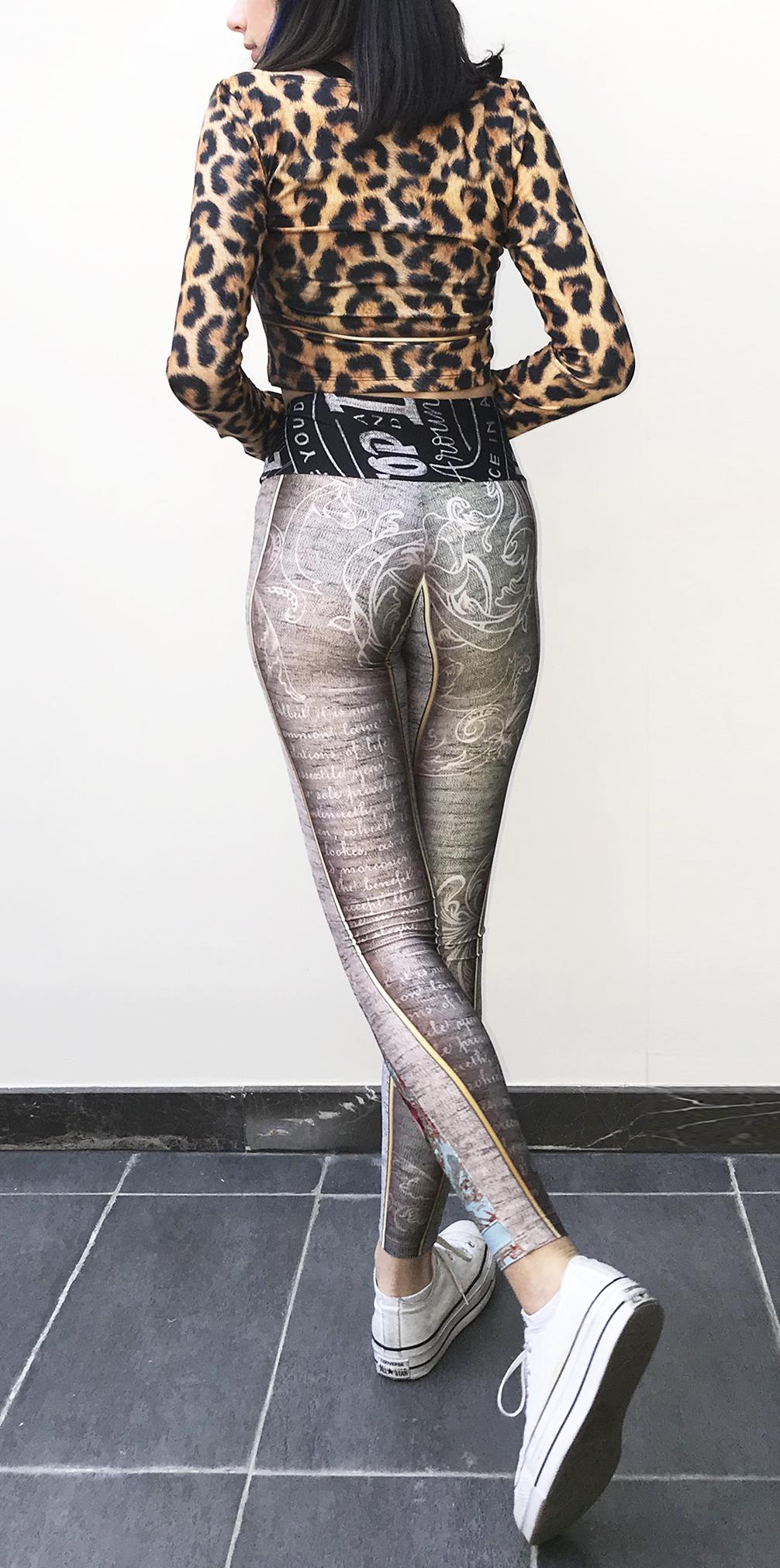 IPNG: Label Longings Tigress Illusion Legging