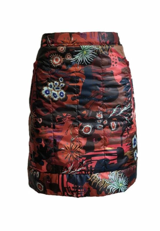 Maloka: Maloka: Sedona Rock Puffer Art Skirt MK_EMILLE