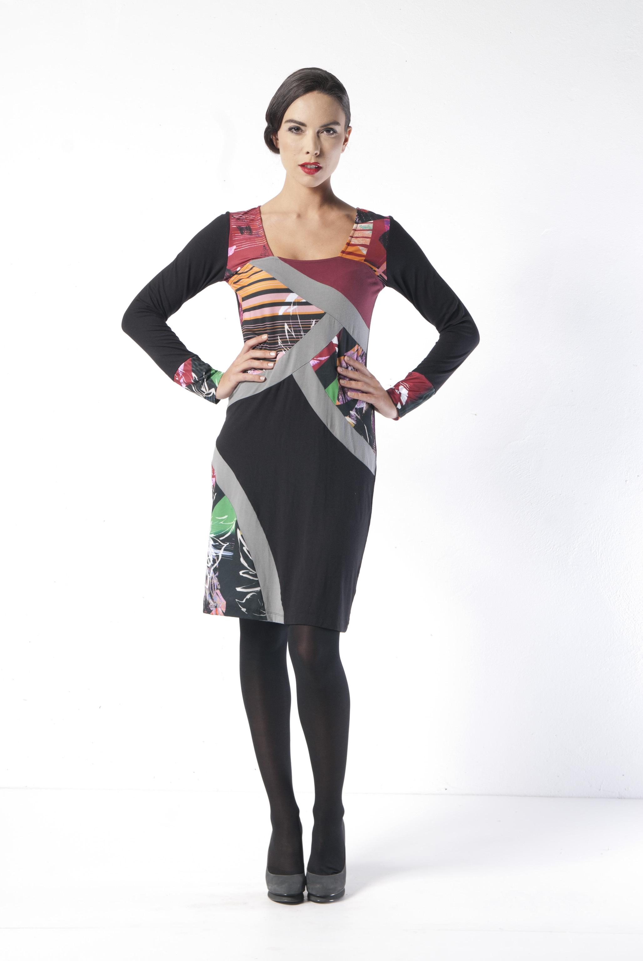 Les Fees Du Vent Couture: Explosion of Color Dress LFDV_887421_N1