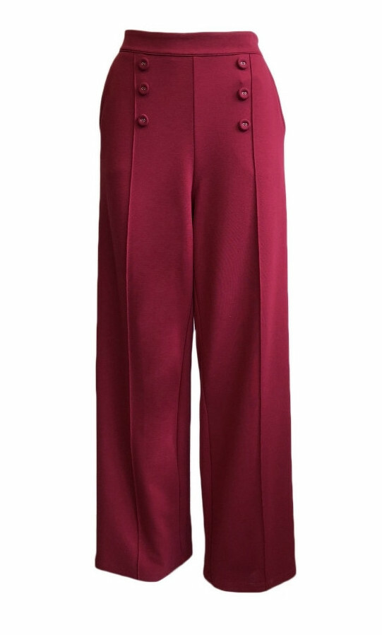 Maloka: De Roma Wide Leg Ponte Pants (More Colors!) MK_DITA