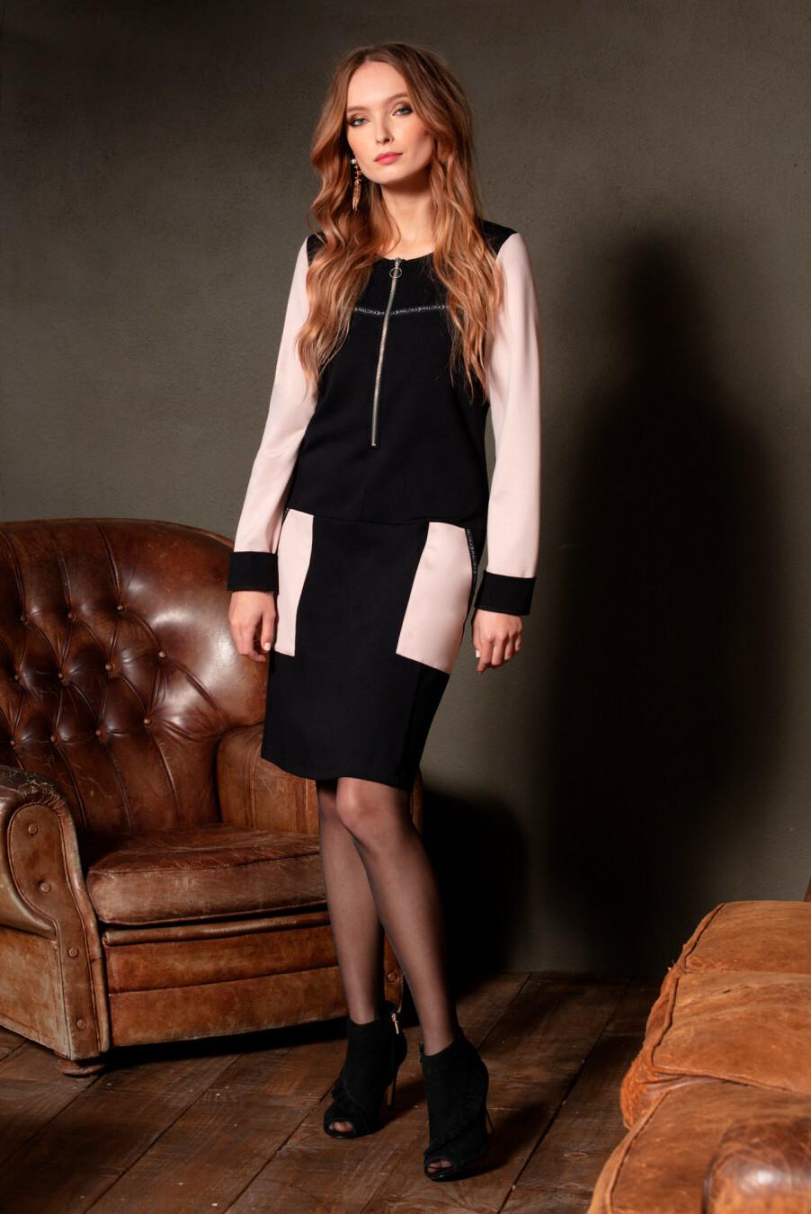 Maloka: Like A Delicious Dessert Color Contrast Pocket Dress/Tunic (More Colors, Few Left!) MK_DENERA_N