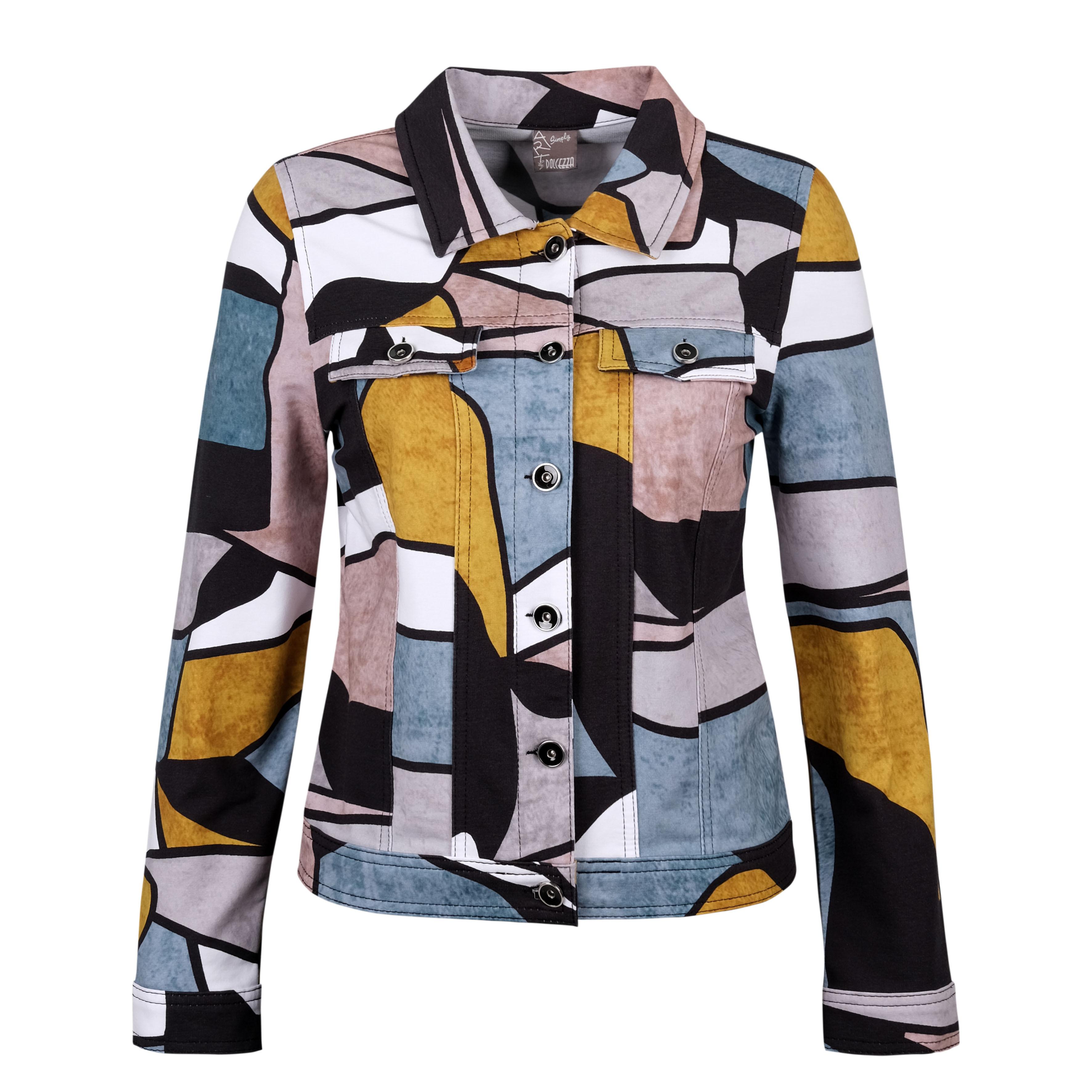 Simply Art Dolcezza: Lost In Time Fancy Wearable Art Denim Jacket