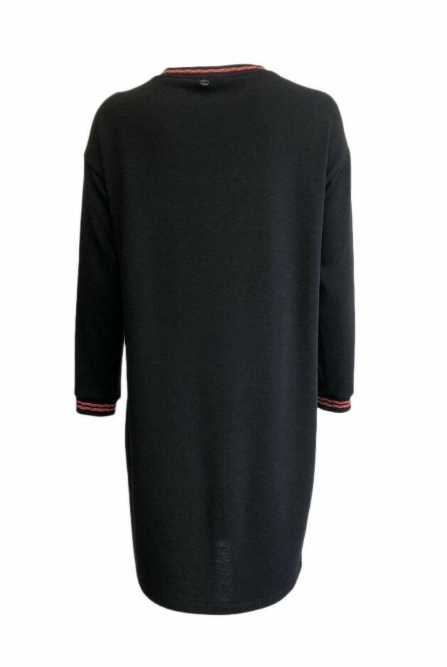 Maloka: Sedona Rock Abstract Art Sweater Dress