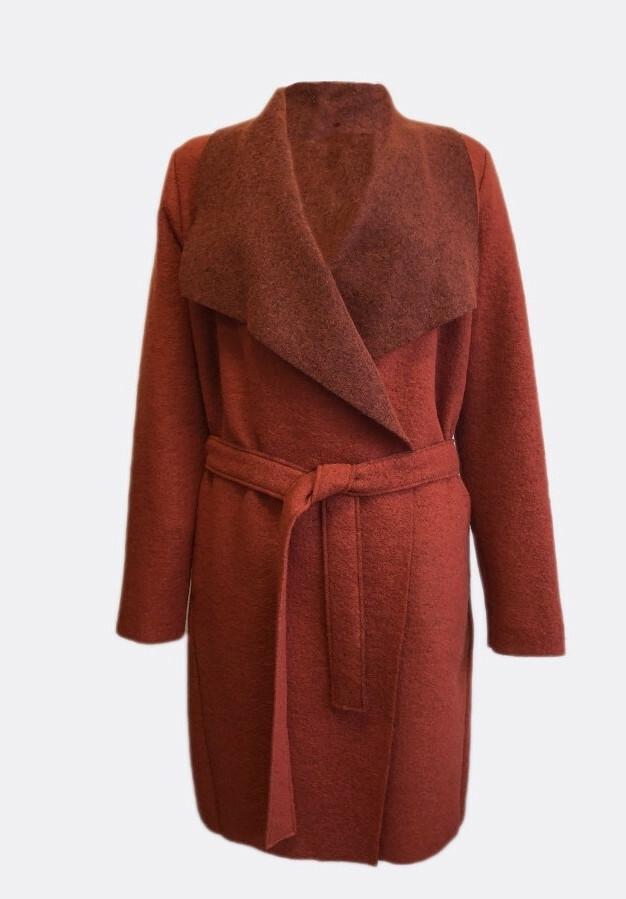 Maloka: Boiled Wool Wrap Coat (More Colors!)