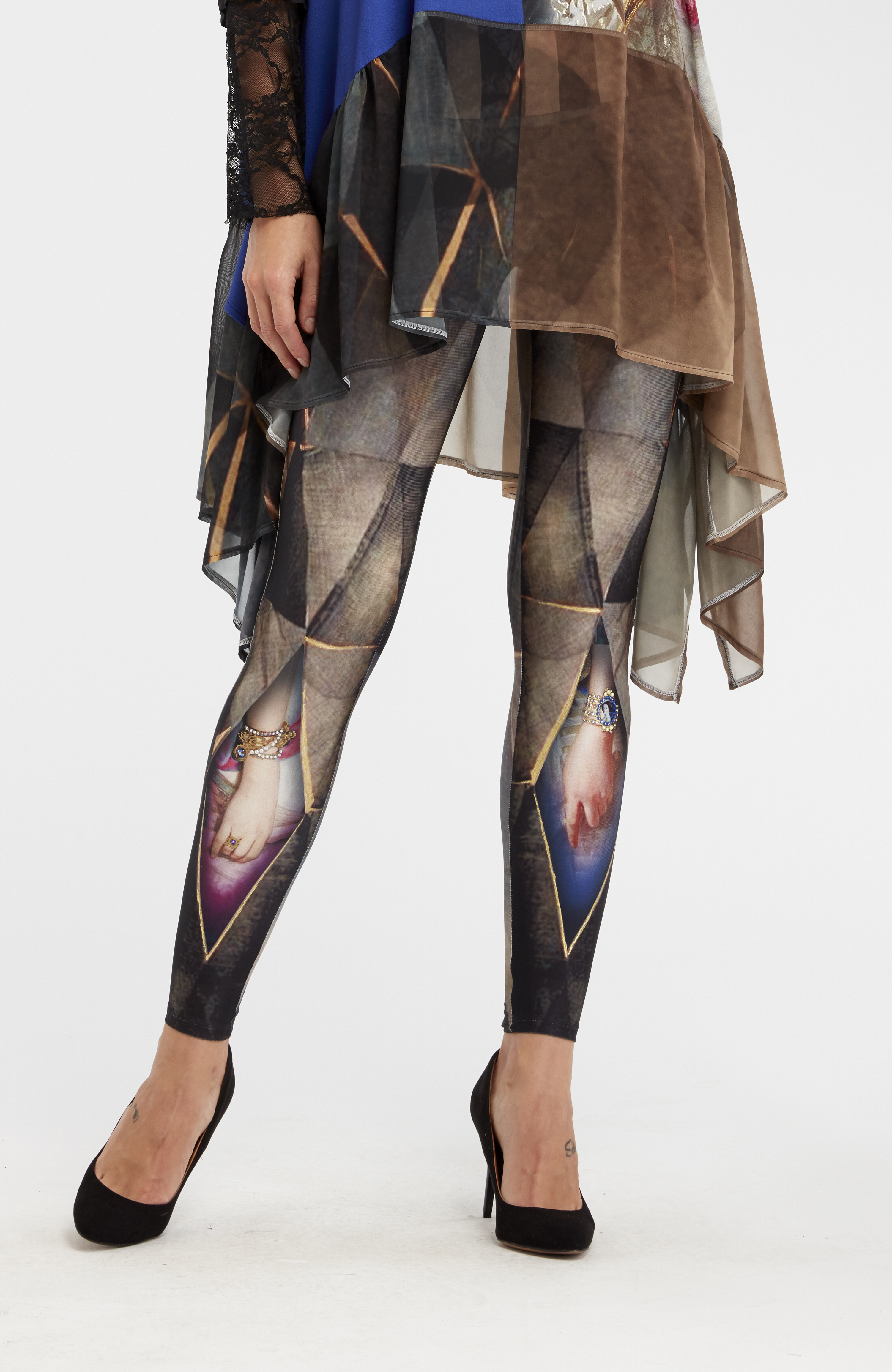 IPNG: Who Is The Woman Behind This Illusion Legging (Some Ship Immed, 1 Left!) IPNG_WIL-012_N