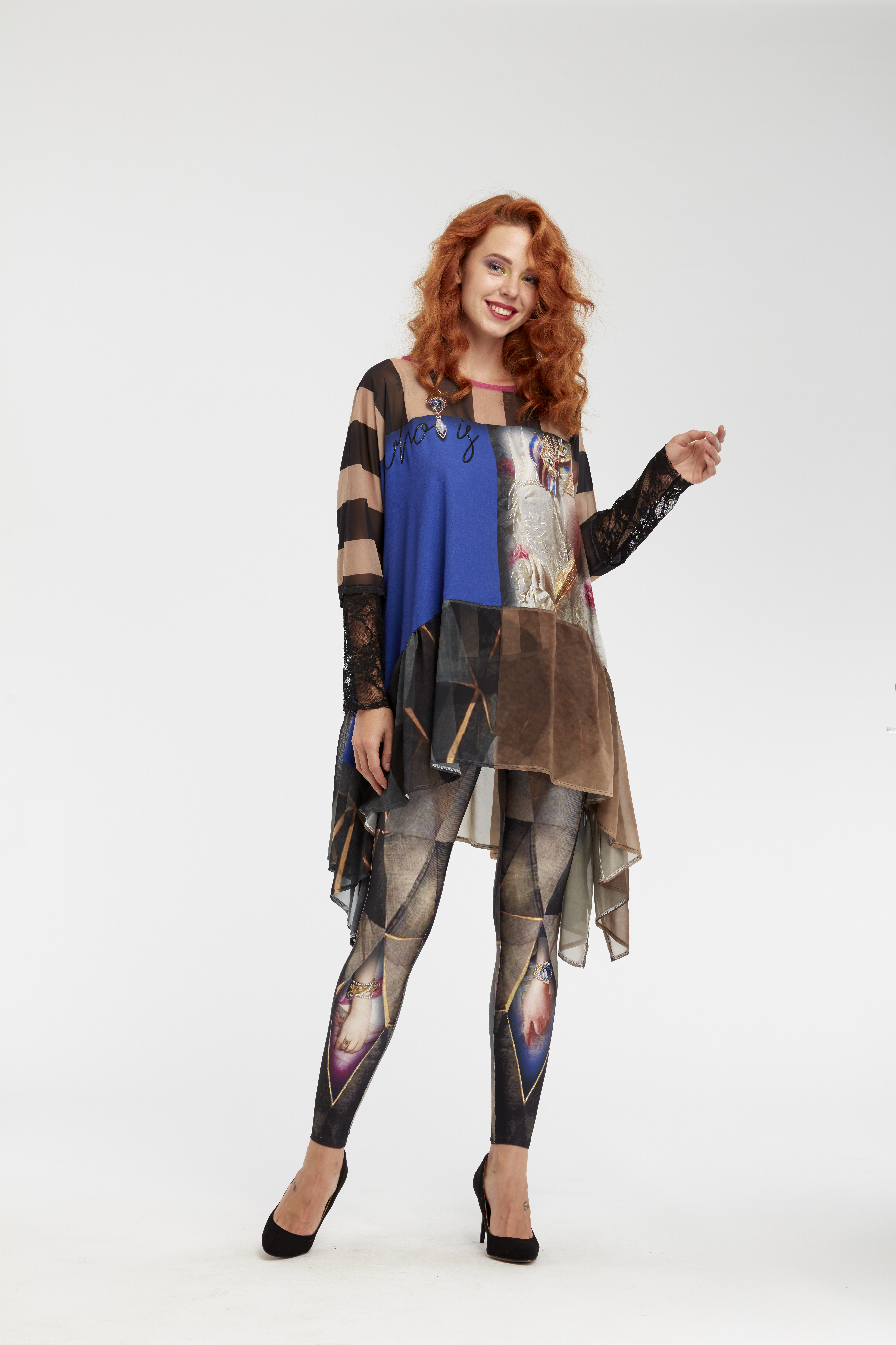 IPNG: Who Is The Woman Behind This Illusion Legging (Some Ship Immed, 1 Left!)