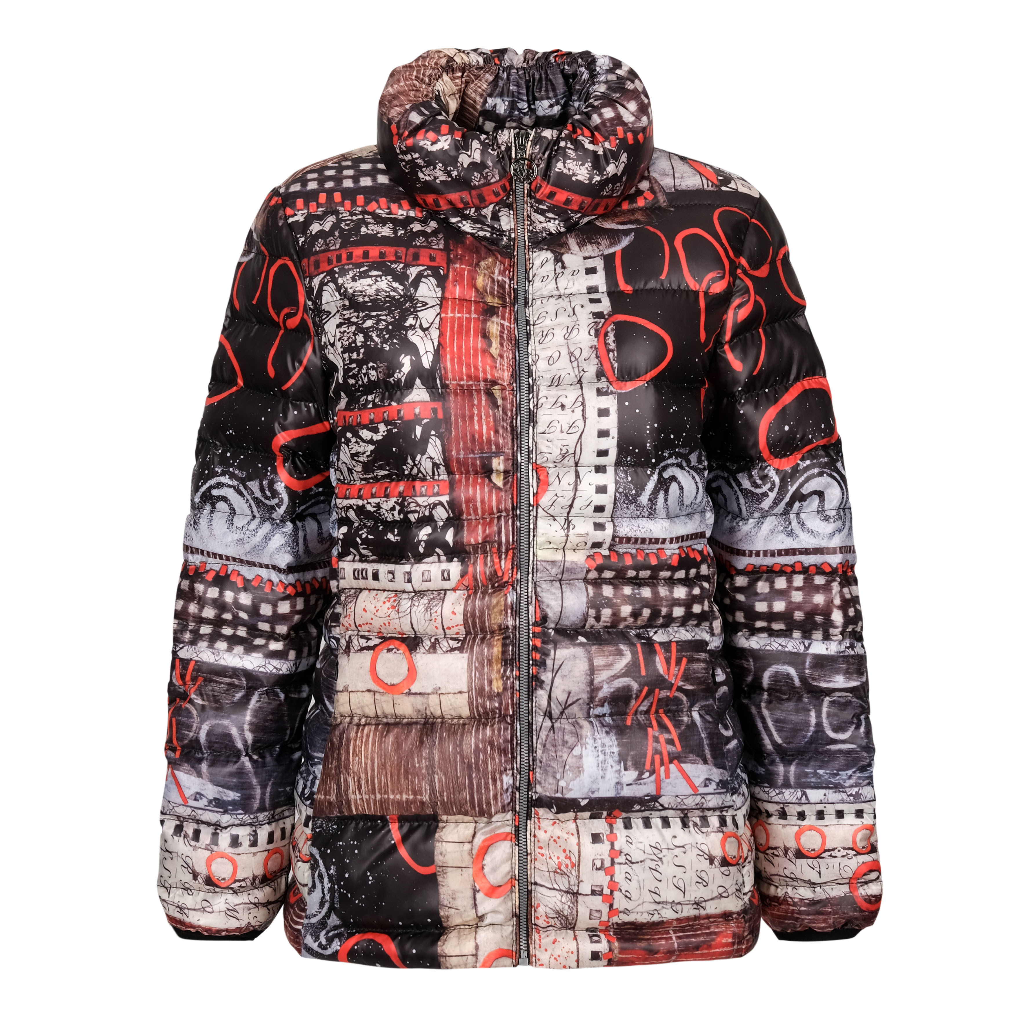 Simply Art Dolcezza: Rising Up In Color Puffer Short Coat Dolcezza_simplyArt_70832