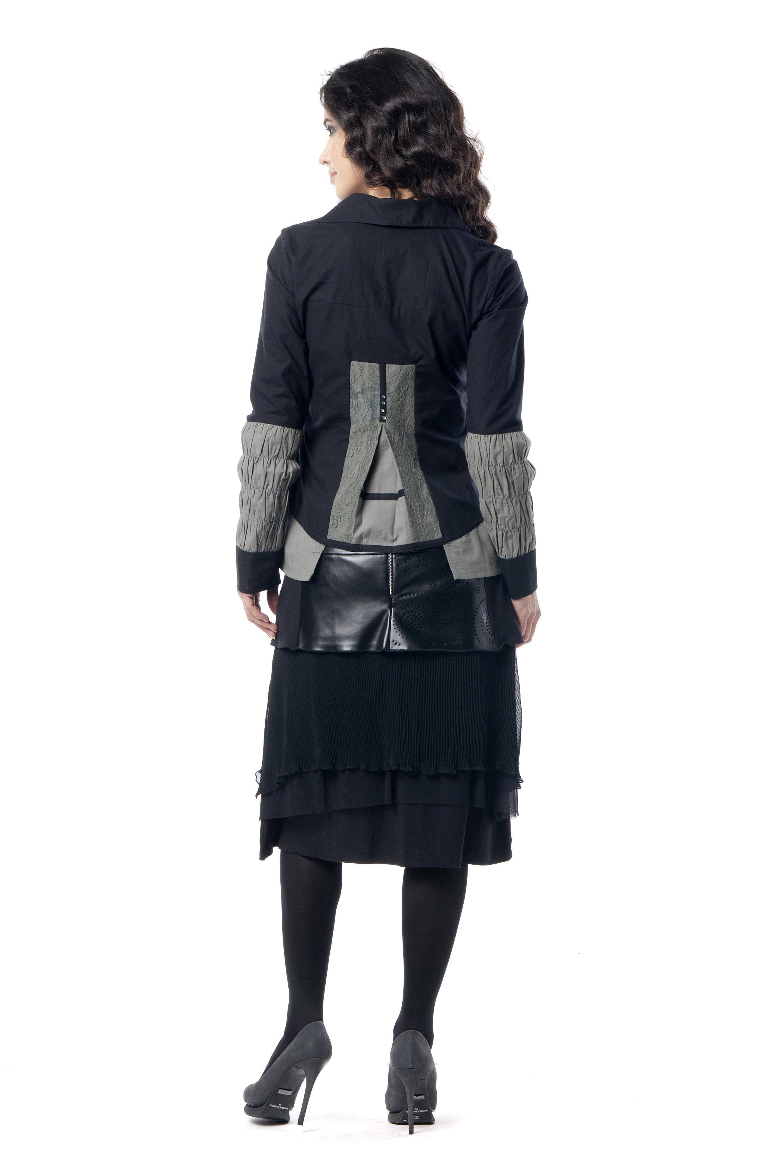 Les Fees Du Vent Couture: Femme Fatale Skirt