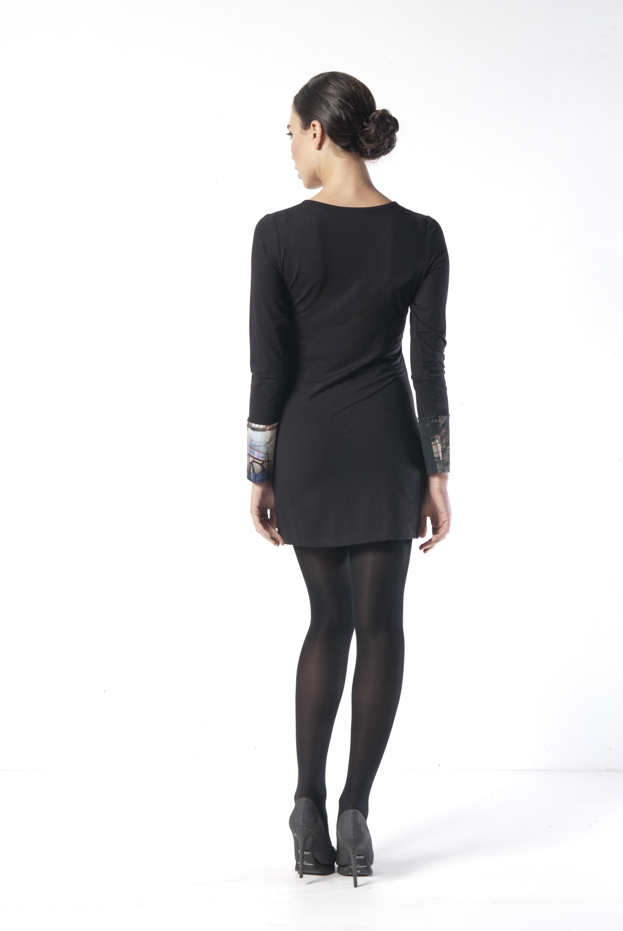 Les Fees Du Vent Couture: Notre Dame Cathedral Mini Dress/Tunic