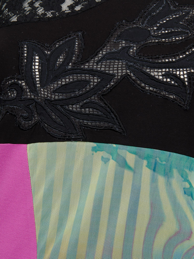 Les Fees Du Vent Couture: Midnight Orchid Top