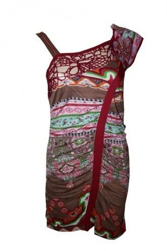 Les Fees Du Vent Arabesque Asymmetrical Dress (2 Left!)