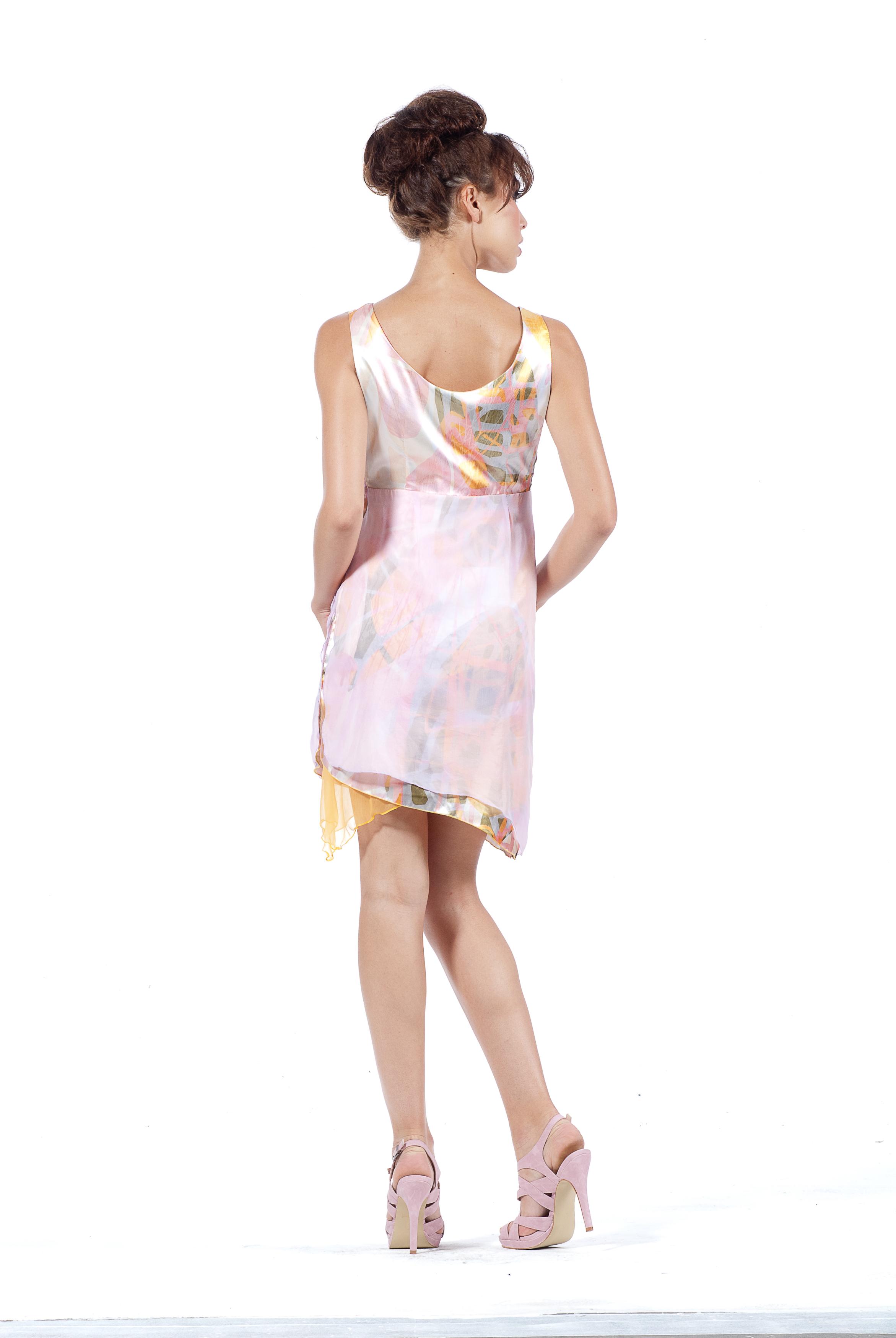 Les Fees Du Vent Layers of Flowers Dress