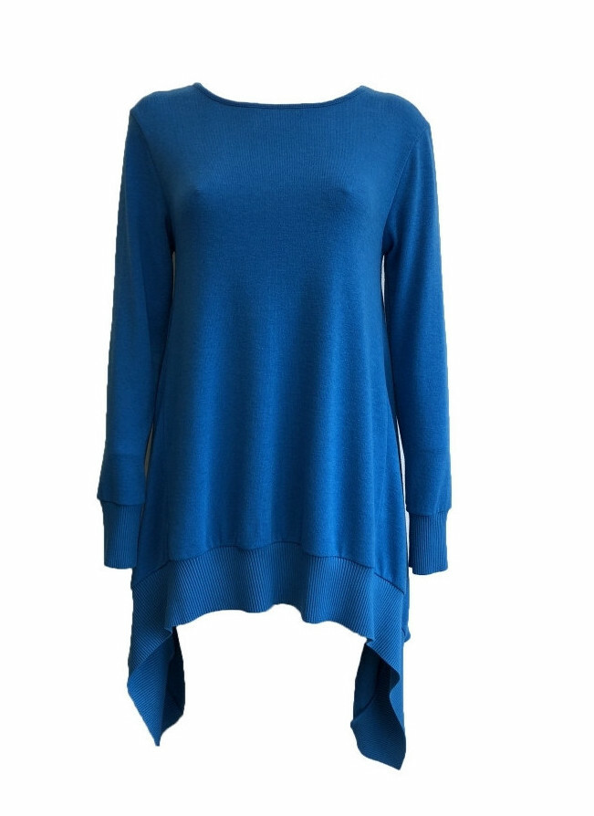 Maloka: Crazy Comfy Tricot Asymmetrical Tunic (Many Colors!) MK_ODELIA