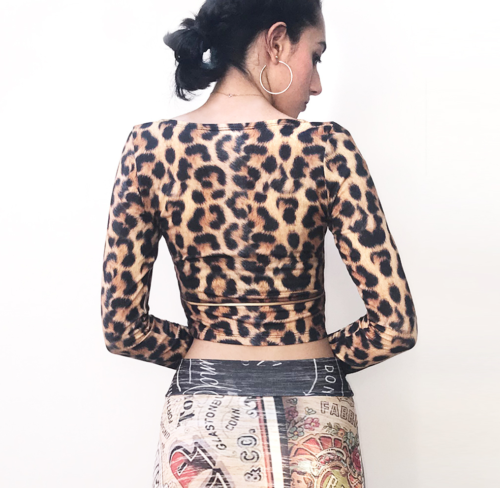 IPNG: Label Longings Leopard Crop Top (Some Ship Immed!)