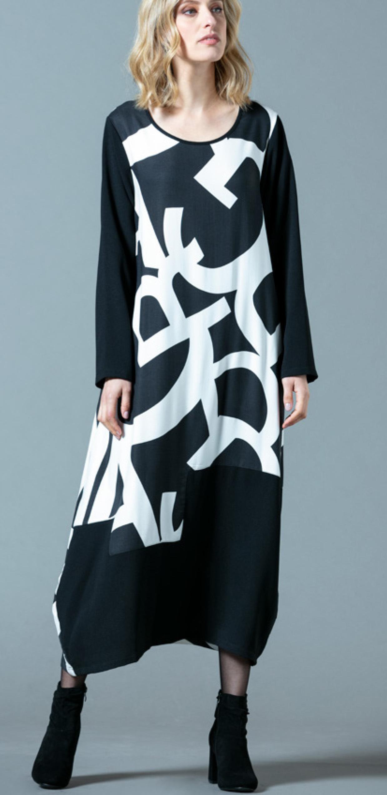 G!oze: Wear Me A Letter Asymmetrical Bubble Dress G_EXTASE
