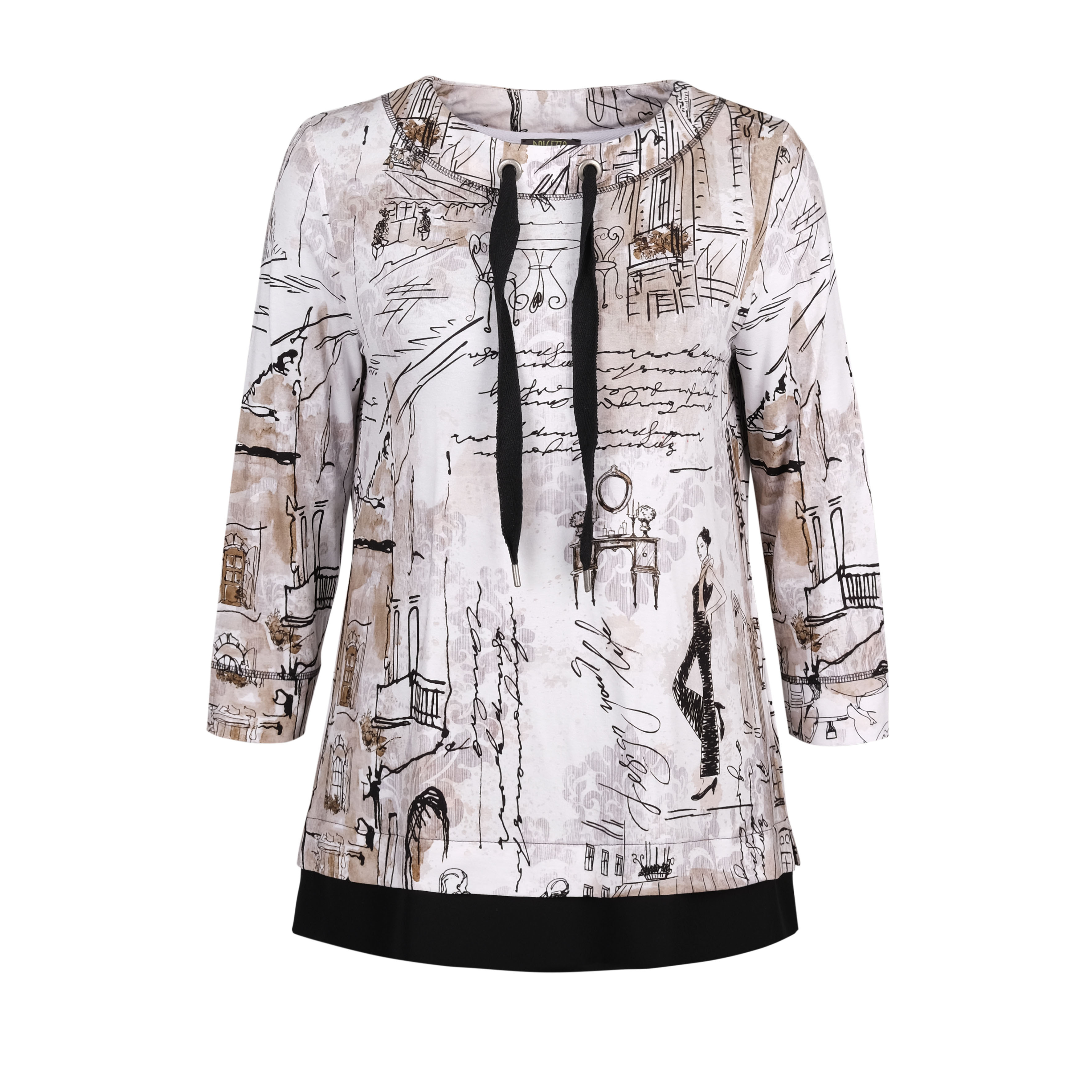 Dolcezza: Emily Once In Paris Art Pullover Dolcezza_70131