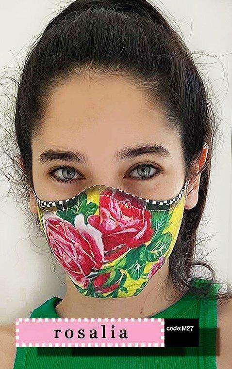 IPNG: Rosalia Rhinestones Art Protective Mask (Ships Immed!)