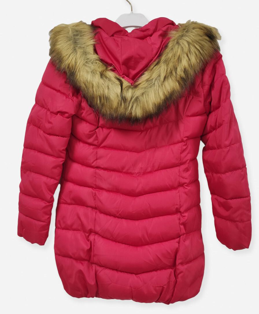 Paul Brial: Carmen In Red Asymmetrical Plush Parka (More Colors!)