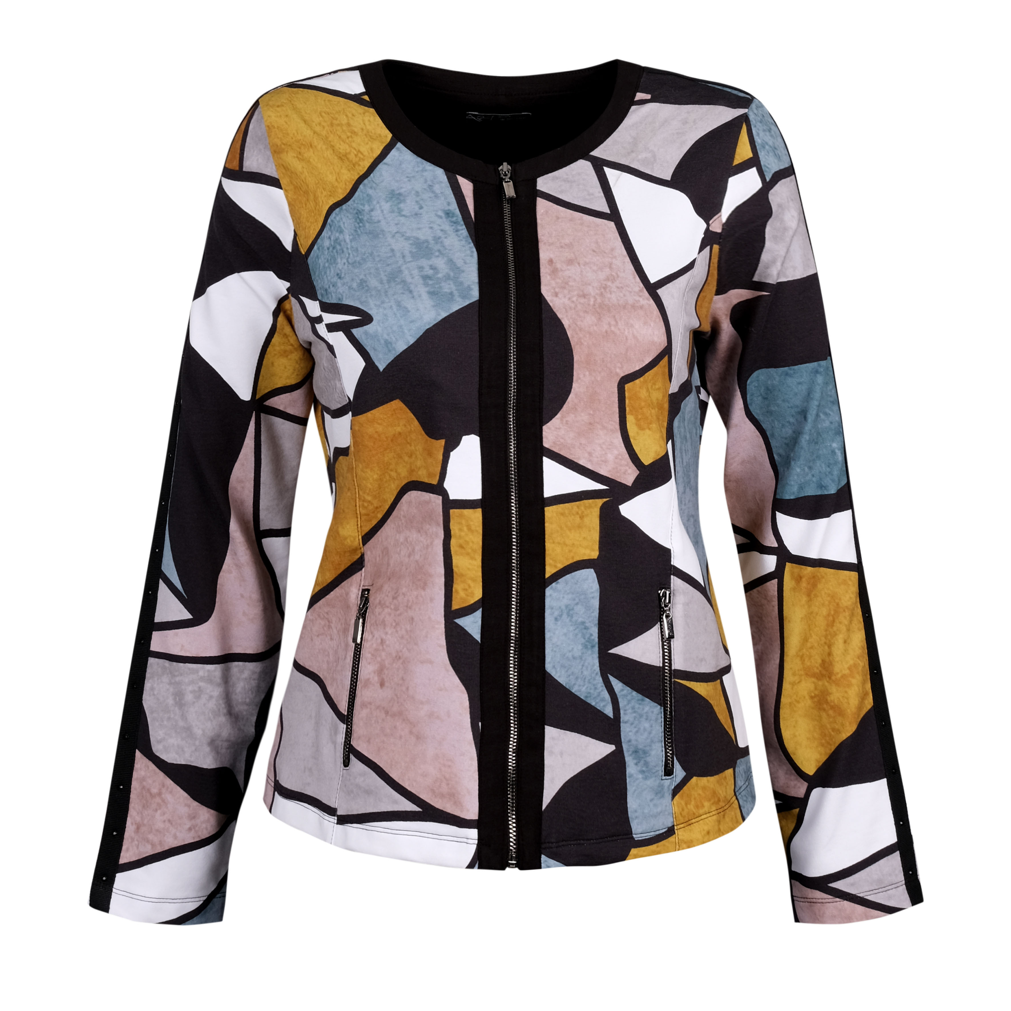 Simply Art Dolcezza: Lost In Time Fancy Wearable Art  Zip Jacket (1 Available At Special Price!) Dolcezza_SimplyArt_70695