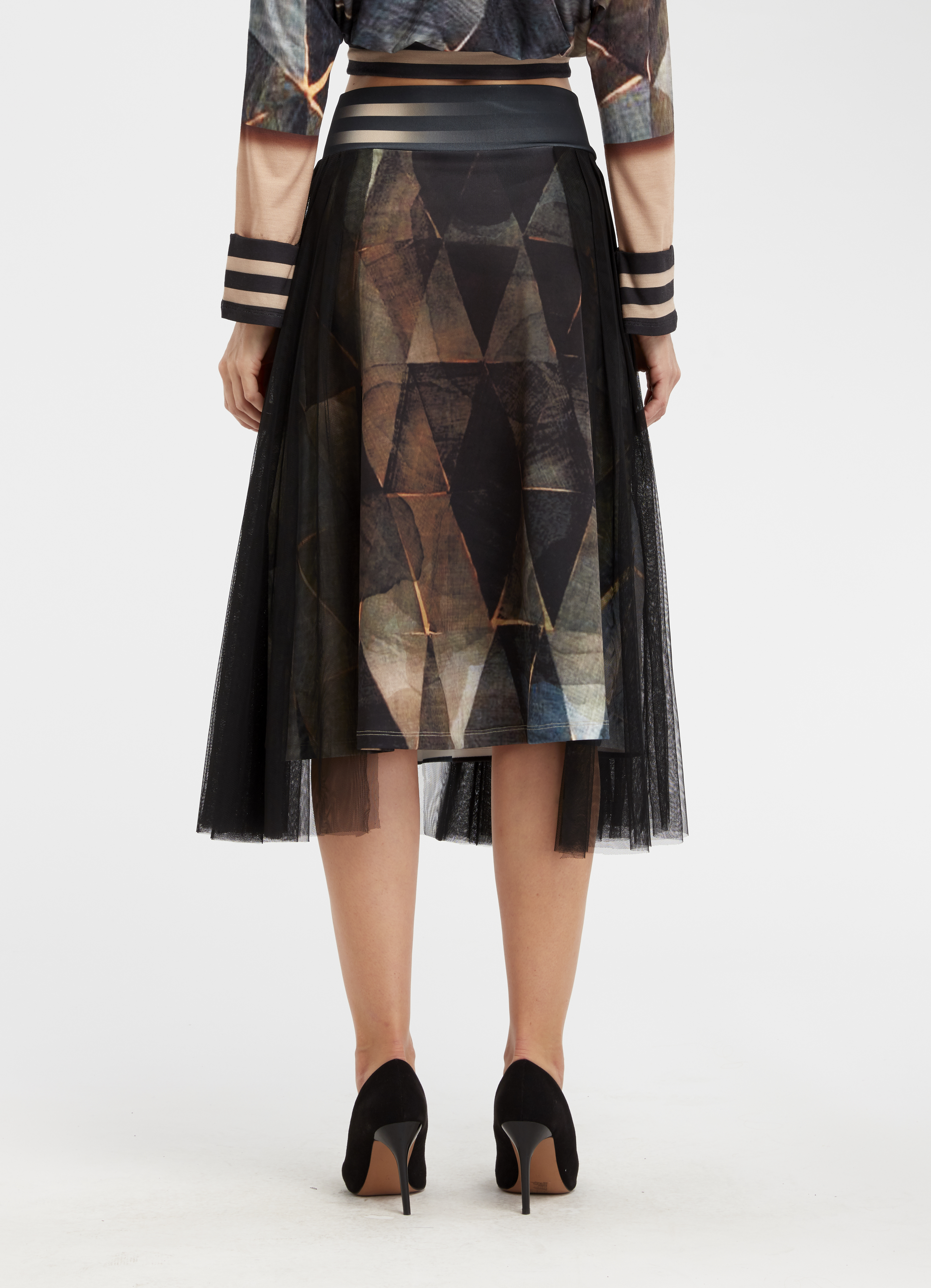 IPNG: Who Is The Woman Behind This Illusion Flared Skirt