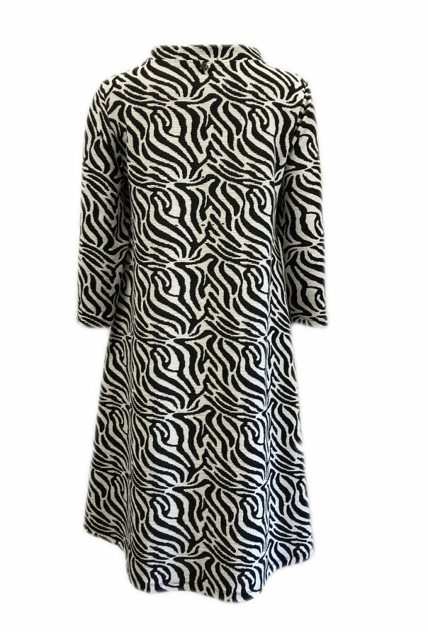 Maloka: Zebra Safari Sweater Dress