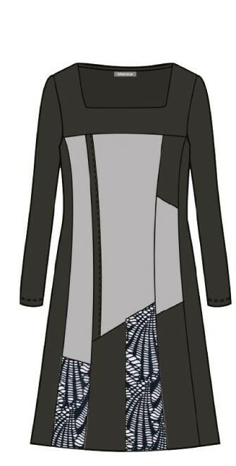 Maloka: Colored Diamond Twist Dress (More Colors!)