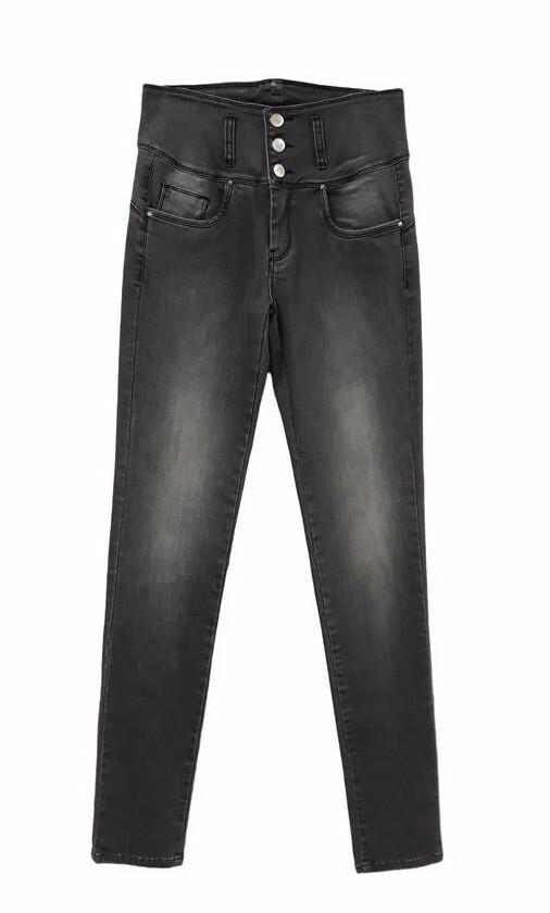 Paul Brial: High Waisted Triple Buttoned Eliott Jeans (More Colors!) PB_ELIOTT