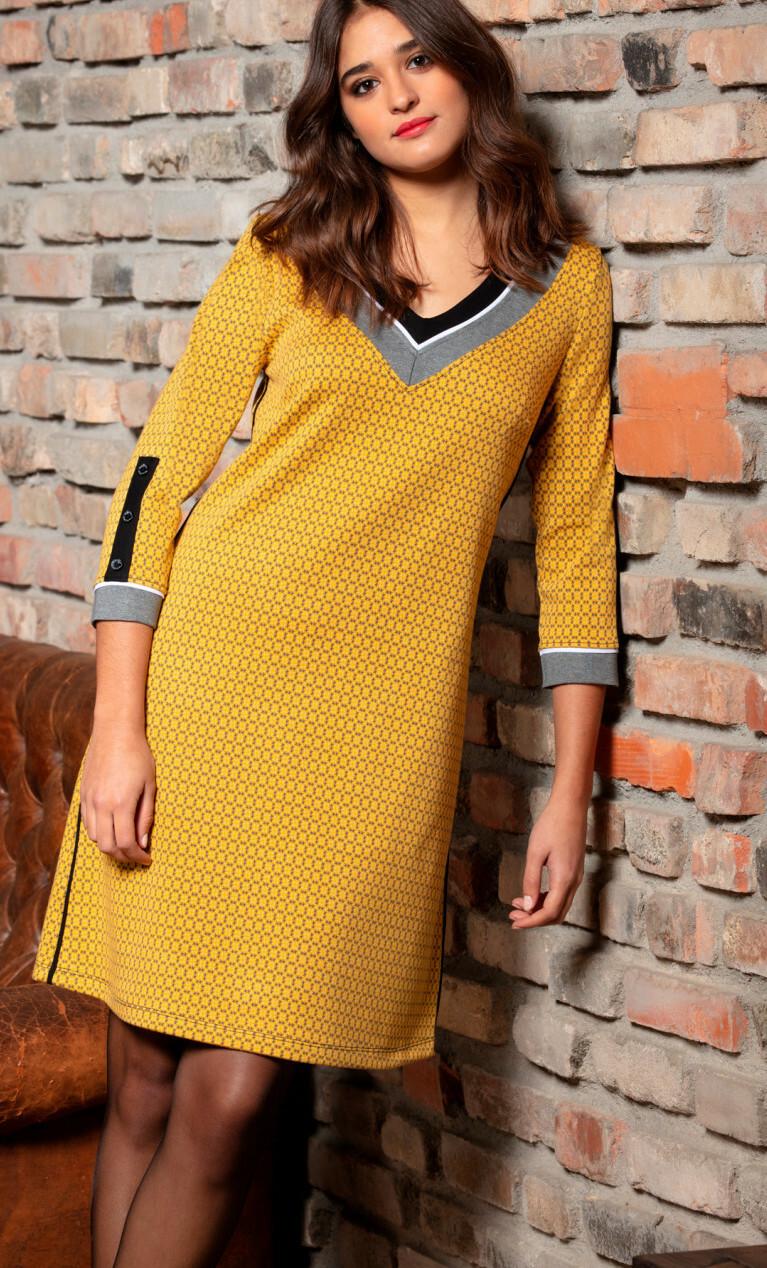 Maloka: My little Saffron Jacquard Dress/Tunic MK_FRANCEANA