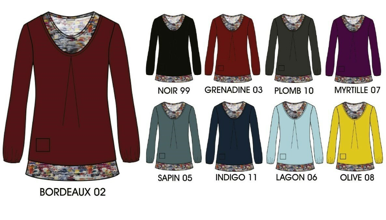 Maloka: Velvet Back Bow Princess Sweater Tunic (More Colors, 2 Left!)