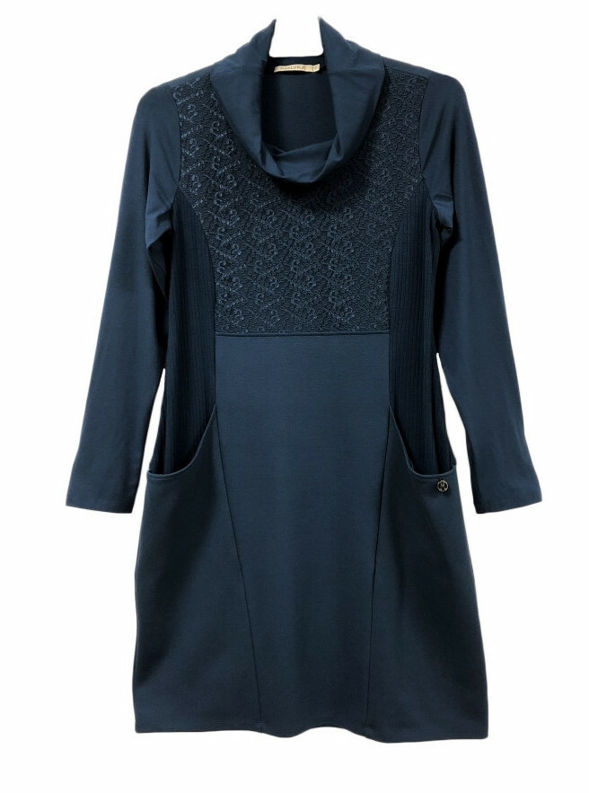 Maloka: Double Knit Jersey Pocket Dress/Tunic