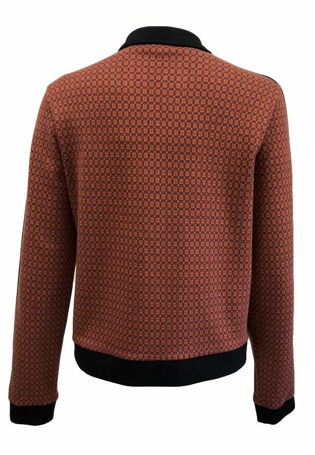 Maloka: Sedona Rock Jacquard Contrast Zip Jacket