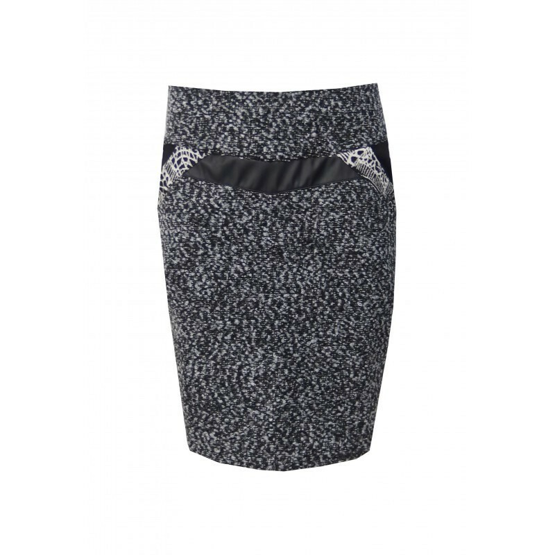Maloka: Wool Tweed Pocket Skirt (1 Left!)