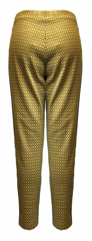 Maloka: Sedona Rock Saffron Jacquard Contrast Pants (Few Left!)