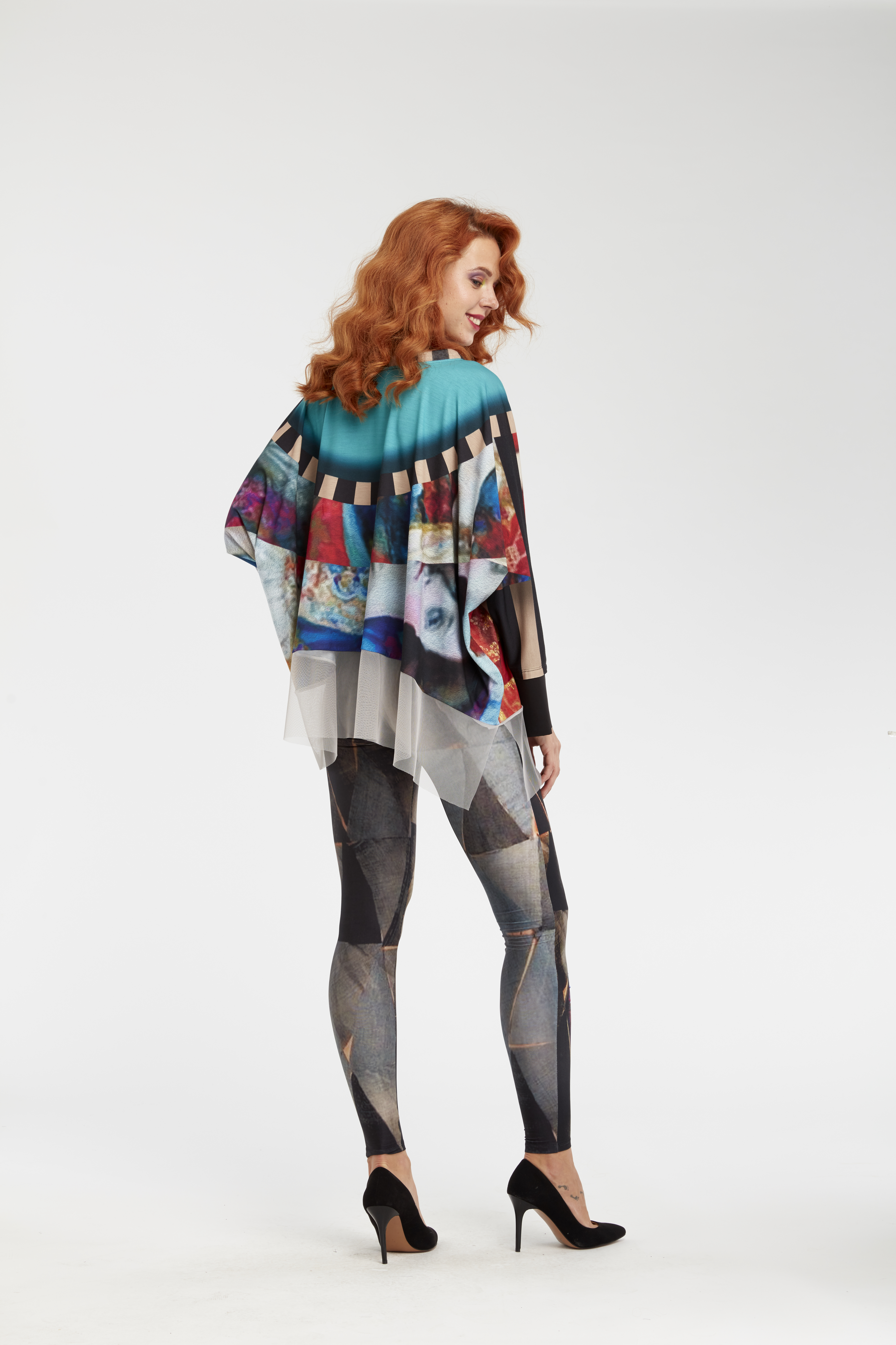 IPNG: Who Is The Woman Behind This Asymmetrical Shawl Blouse Tunic