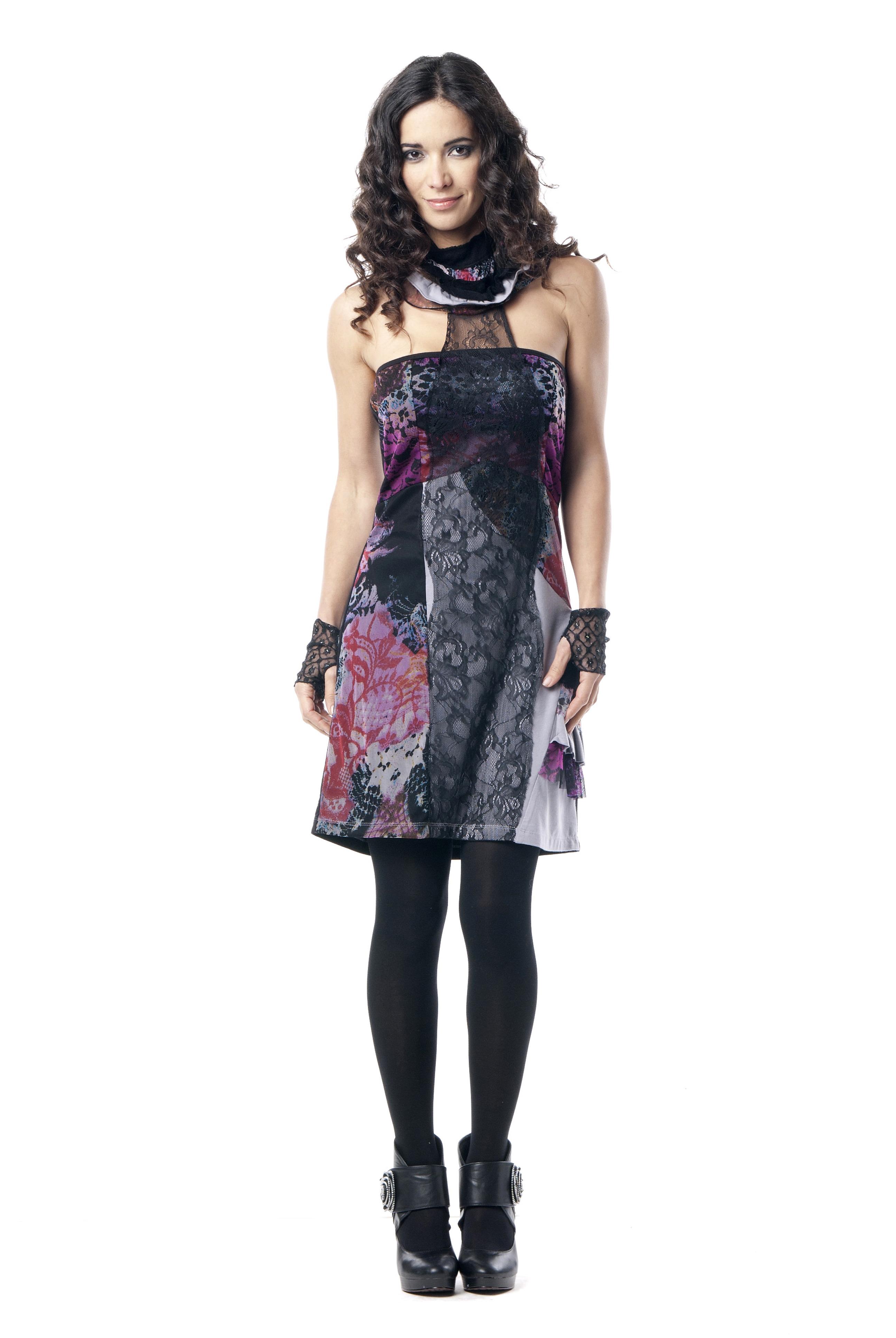 Les Fees Du Vent Couture: Femme Fatale Dress LFDV_887311