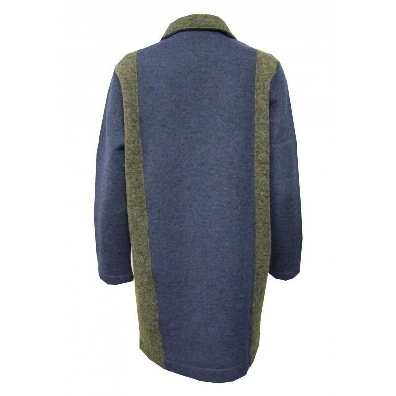 Maloka: Double Color Crushed Wool Teddy Coat (1 Left!)